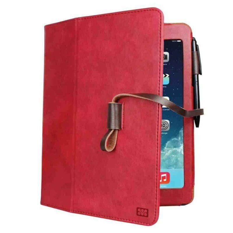 PROMATE-ALGERIE-STORE-Agenda-Mini-Etui-en-cuir-pour-iPad-mini-Rouge-