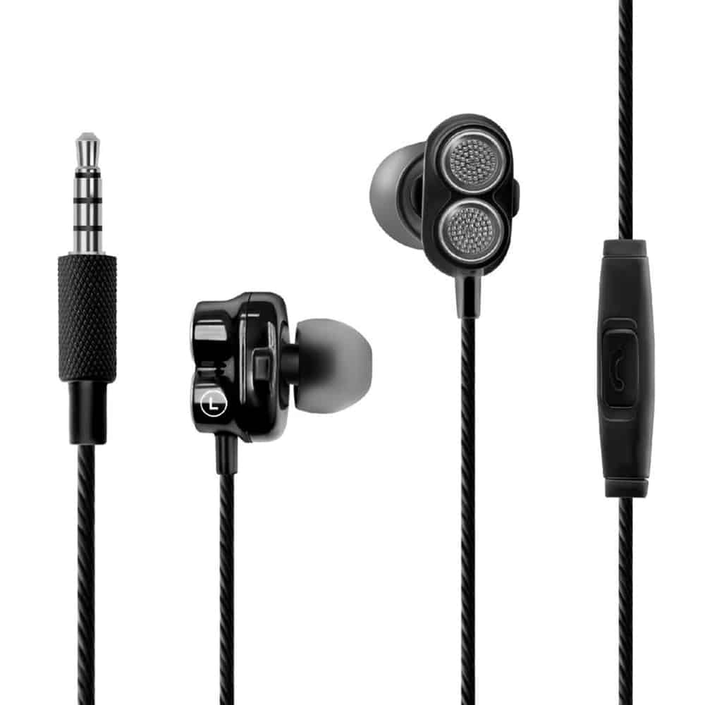 Promate ONYX Ecouteurs intra-auriculaires Dual Driver Bass Boost Algerie store