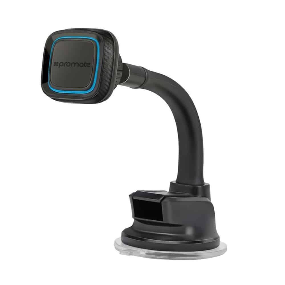 Promate MagMount-4 à 360 degrés Support magnétique pour tableau de bord de voiture rotatif