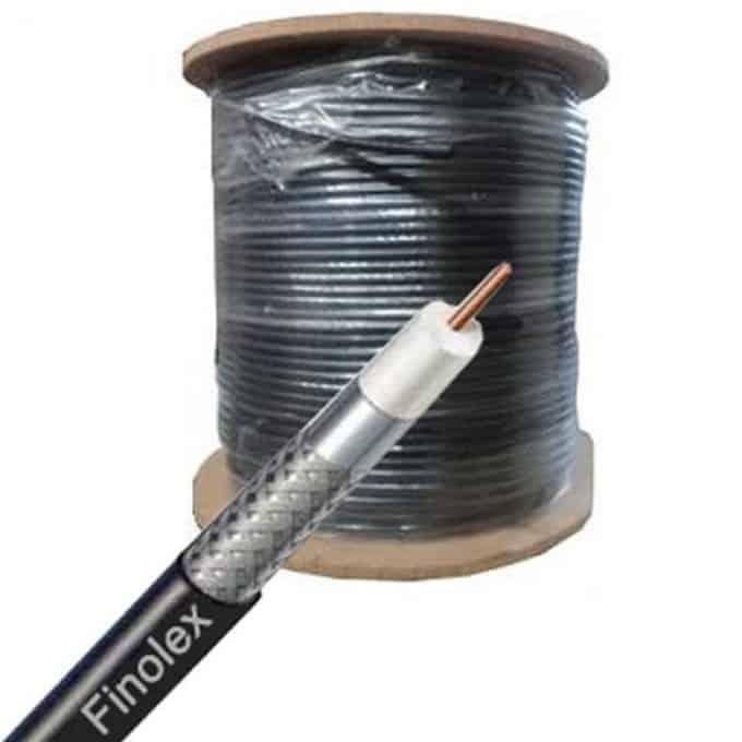 Finolex a maintenant introduit ces fils. Finolex utilise la dernière technologie en matière de moussage physique par injection de gaz pour la fabrication de câbles coaxiaux qui offrent un faible poids et permettent une transmission du signal sans perte.