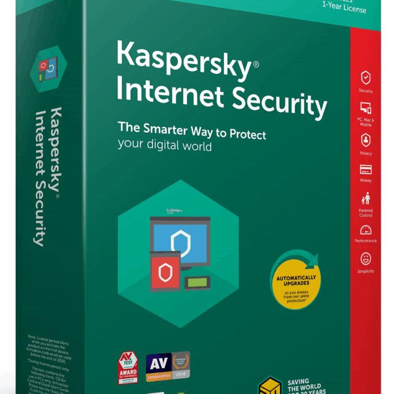 Kaspersky Internet Security Naviguez sur le Web, utilisez les réseaux sociaux et effectuez des achats en ligne Une Sécurité Primée