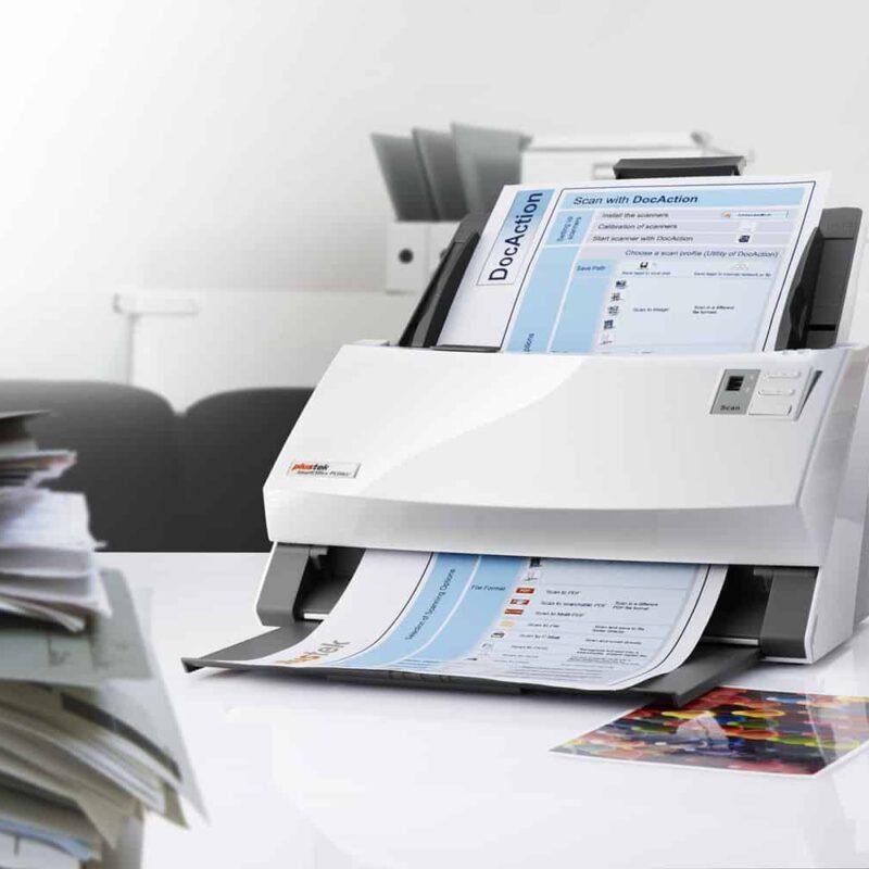 Le numériseur de documents Plustek SmartOffice PS506U n'est pas particulièrement rapide. il offre suffisamment pour faire le travail