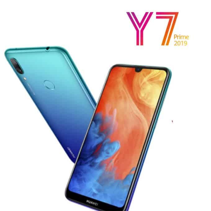 HUAWEI Y7 Prime 2019 _ 6,26'' L'appareil photo avant de 16 mégapixels Le design simple Réseau Double 4G nouvelle génération_Algerie store