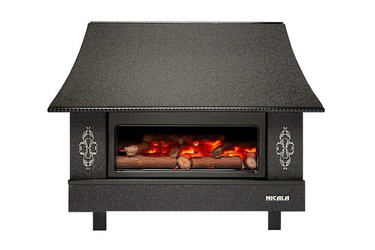 chauffage domestique cheminé Nicala MC30